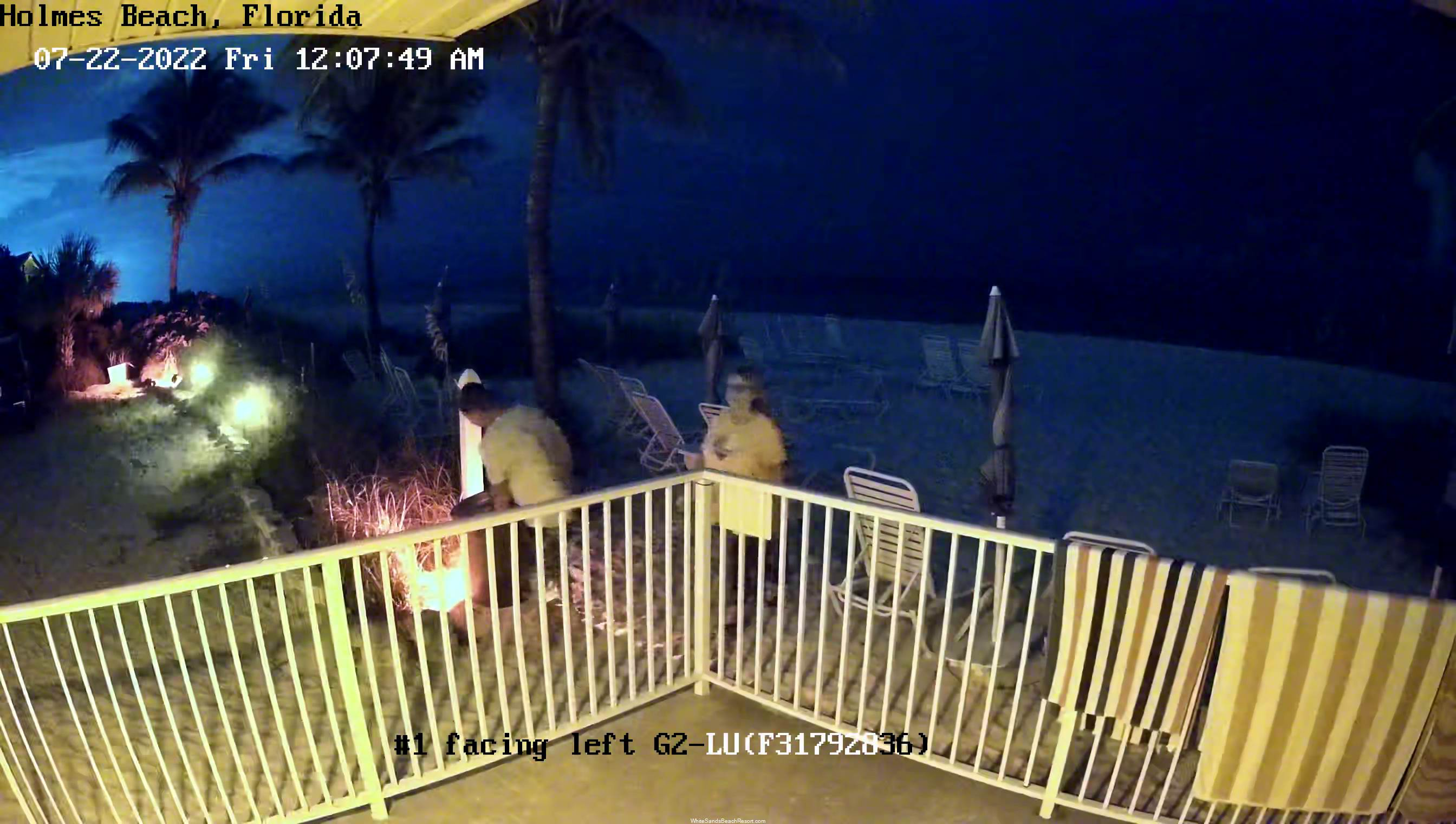 White Sands Beach Resort Webcam Beach View 2