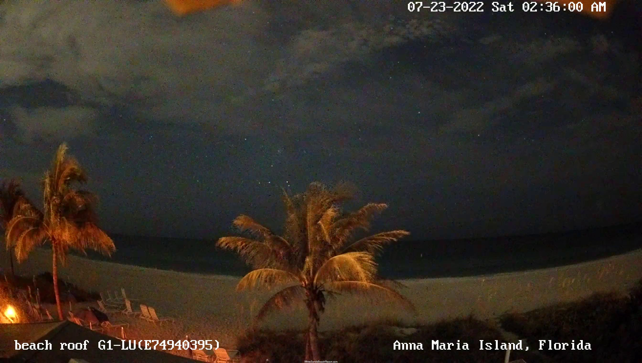 White Sands Beach Resort Webcam Rooftop View 3