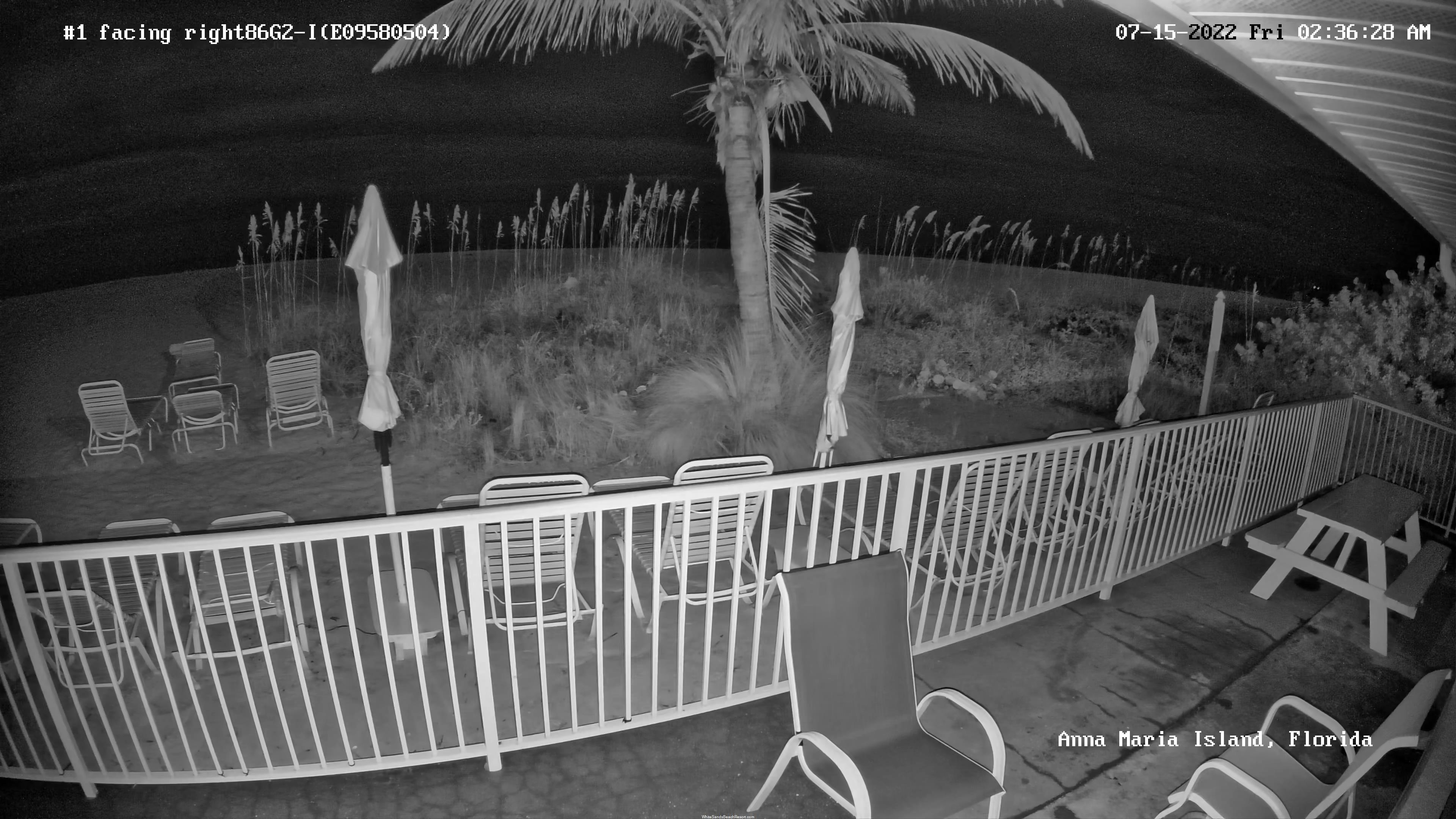 White Sands Beach Resort Webcam Beach View 4