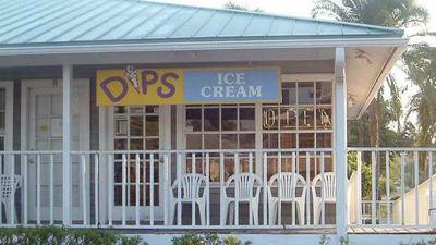 Dips Icream on Anna Maria Island