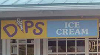 Dips Ice cream Logo