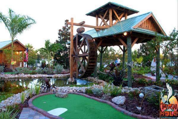 Fish Hole Miniture Golf