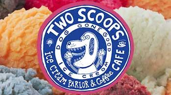 2 Scoops Ice Cream on Anna Maria Island