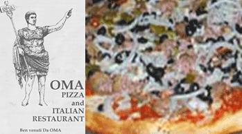 oma pizza logo