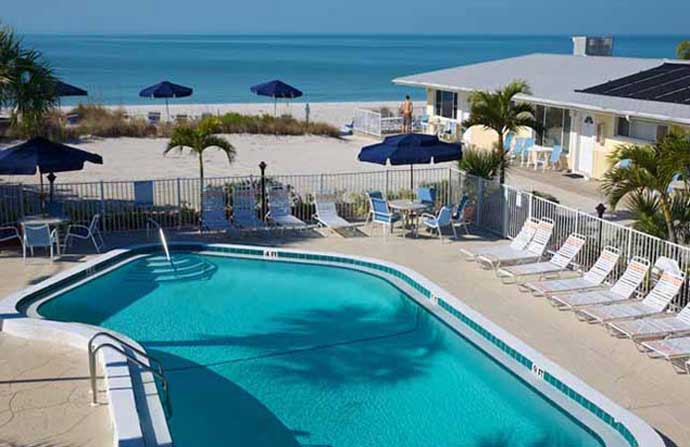 Anna Maria Island Pool -  White Sands Resort - Florida