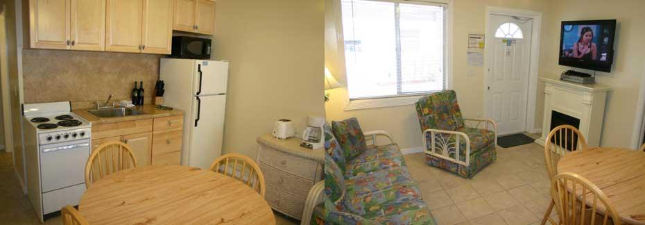 Rooms 6 and 8 - Two Bedroom, 1 Bath Apartment